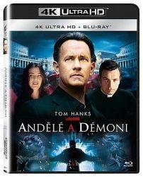 Andělé a démoni - 2xBD (Blu-ray + 4K UHD film)