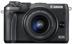 Canon EOS M6 černý + EF-M 15-45mm IS STM