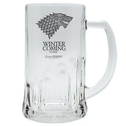 Game of Throne Winter is coming Stark sklenice (500ml)