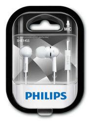 Philips SHE1455WT/10 bílá