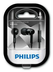 Philips SHE1455BK/10 černé