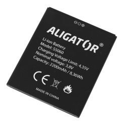 Aligator S5060 Duo Li-Ion baterie