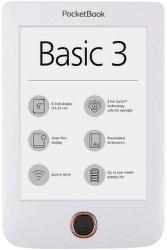 PocketBook 614+ Basic 3 bílá vystavený kus splnou zárukou
