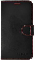 Fixed FIT knížkové pouzdro iPhone X/XS, černé