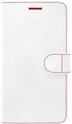 Fixed FIT knížkové pouzdro Huawei Y5/Y6 2017, bílé