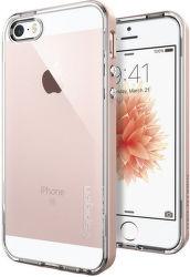 Spigen iPhone 5/5S/SE Case Neo Hybrid Crystal, růžovo-zlatá