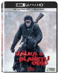Válka o planetu opic - 2xBD (Blu-ray + 4K UHD film)