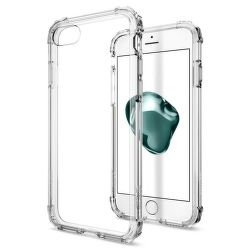 Spigen iPhone 7/8 Case Crystal Shell, transparentní
