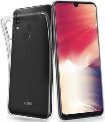SBS Skinny silikonové pouzdro pro Samsung Galaxy A40, transparentní