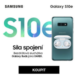 Samsung Galaxy S10e + Galaxy Buds jako dárek
