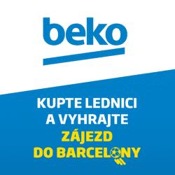 Kupte lednici Beko a vyhrajte zájezd do Barcelony