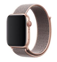 Apple Watch sportovní řemínek 44 mm, pískově růžová