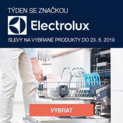 Electrolux týden - slevy na vybrané produkty
