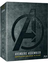 Avengers kolekce 1.-4.  BD film