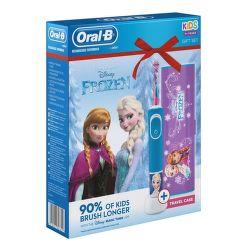 Oral-B Vitality D100 Frozen + cestovní pouzdro
