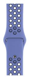 Apple Watch 40 mm Nike sportovní řemínek S/M a M/L, modrý/černý
