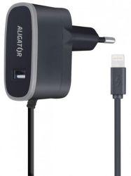 Aligator 2v1 USB/Lightning nabíječka, černá