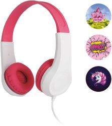 Sencor SEP 255 růžovobílá dětská sluchátka