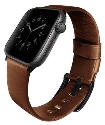 Uniq Mondain řemínek pro Apple Watch 44 mm, hnědá