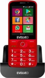Evolveo EasyPhone AD červený