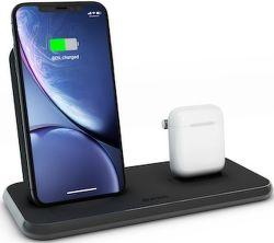 Zens Stand + Dock Aluminium bezdrátová nabíječka 10W Qi, černá