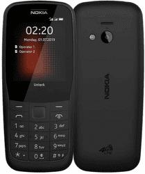 Nokia 220 Dual SIM 4G černý