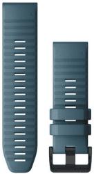 Garmin QuickFit 26mm silikonový řemínek pro Fénix 6X, modrá