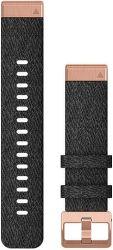 Garmin QuickFit 20 mm nylonový řemínek pro Fénix 6S, černá