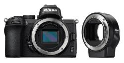 Nikon Z50 tělo černé + FTZ adaptér