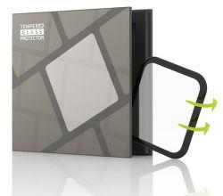 TGP 3D tvrzené sklo pro Apple Watch Series 5 40mm, černá