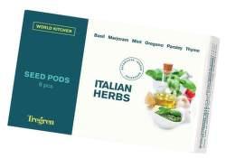Tregren Italian Herbs-Italské bylinky (kapsule se semenami 6 ks)