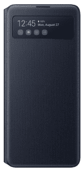 Samsung S View Wallet Cover pro Samsung Galaxy Note10 Lite, černá