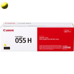 Canon 055HY toner žlutý