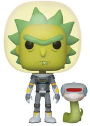 Funko POP! Rick & Morty S2 - Space Suit Rick w/Snake