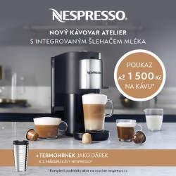 Nespresso - připravte si kávu po svém