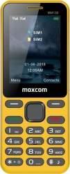 Maxcom MM 139 žlutý