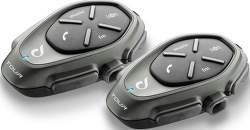 CellularLine Interphone Tour Twin handsfree pro helmy, černá