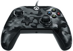 PDP Wired Controller pro Xbox One CAMO černý