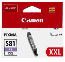 Canon CLI-581 XXL foto modrá