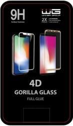 Winner 4D Full Glue ochranné tvrzené sklo pro Samsung Galaxy A21s, černá