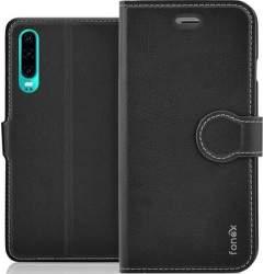 Fonex Identity flipové pouzdro pro Huawei P30 Lite, černá