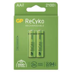 GP ReCyko HR06 (AA) 2100 mAh 2 ks