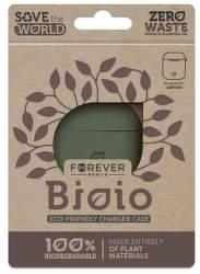 Forever Bioio ochranné pouzdro pro Apple AirPods zelené