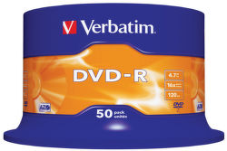 Verbatim 43548 - DVD-R media