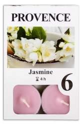 Provence Jasmín vonná svíčka 6ks