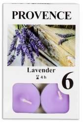 Provence Levandule vonná svíčka 6ks
