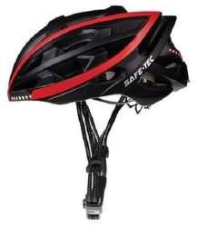 Safe-Tec TYR S chytrá helma černá