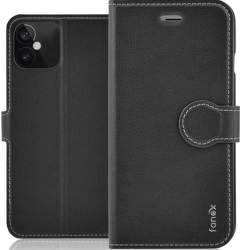 Fonex Identity flipové pouzdro pro Apple iPhone 12 mini černé