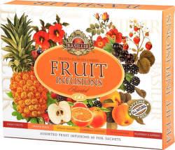 Basilur Fruit Infusions Assorted ovocný čaj 60ks