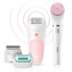 Braun Silk-épil 5 5-875 Beauty Set epilátor + Braun FaceSpa obličejový epilátor